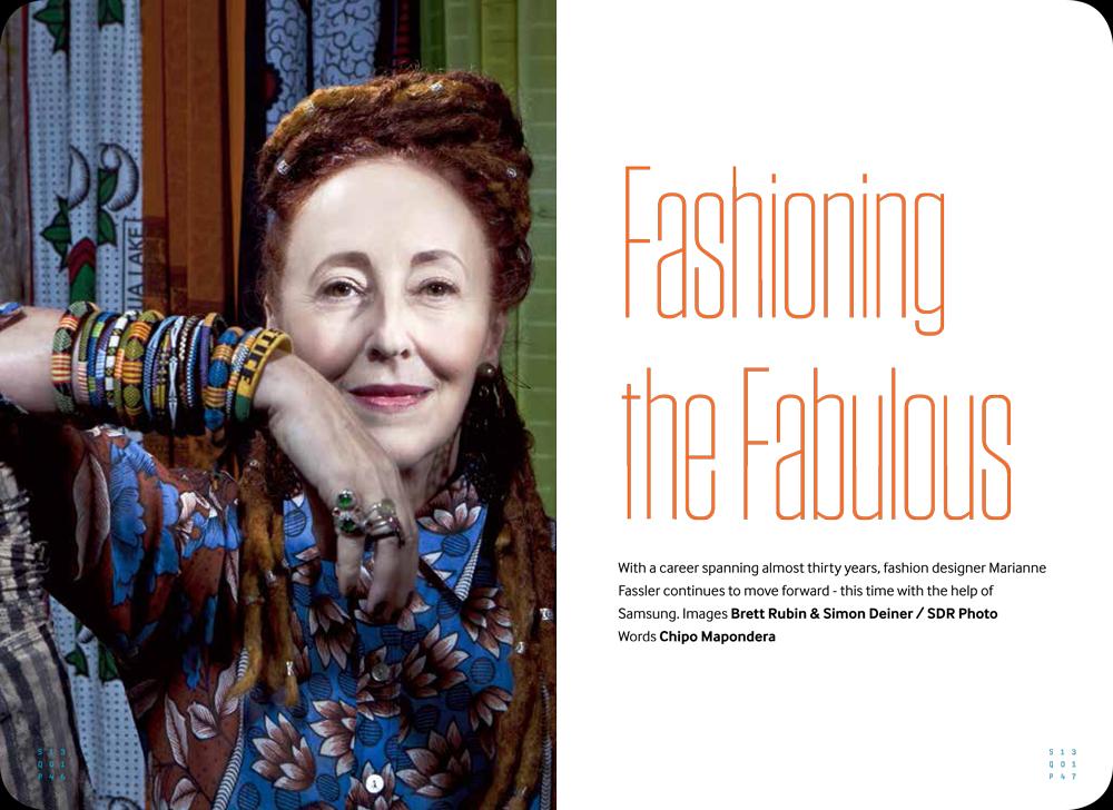 Marianne Fassler in Samsung & Fashion