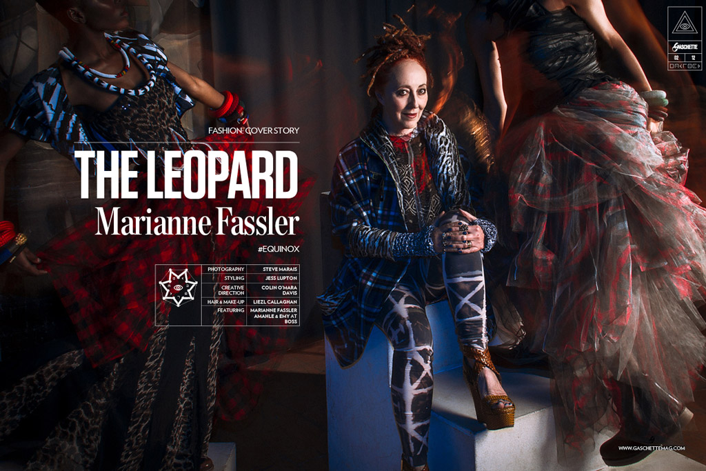 THE LEOPARD FEATURING MARIANNE FASSLER IN GASCHETTE MAGAZINE