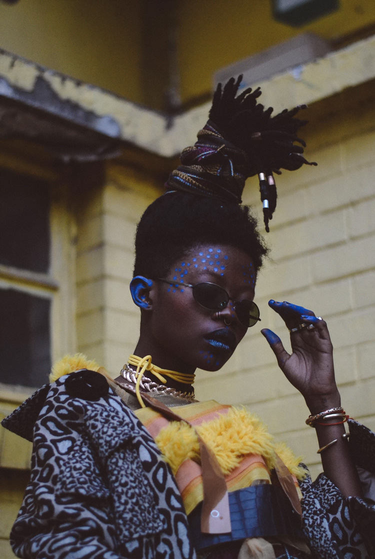 Jojo Abot in our AW17 collection – Unlabelled magazine