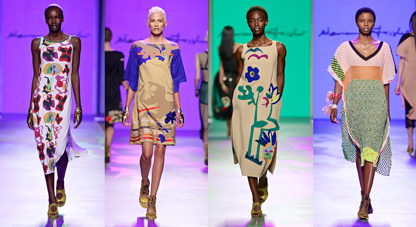 """""""Leopard Frock did not compromise on a dazzling Spring collection."""""""